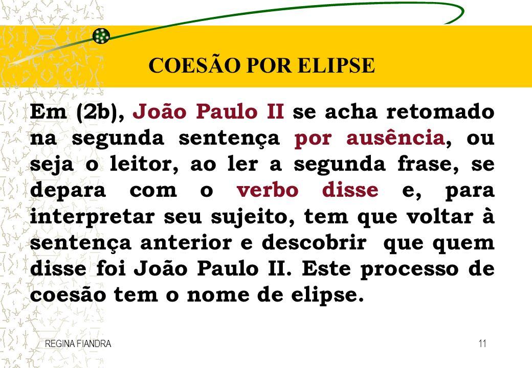 COESÃO POR ELIPSE