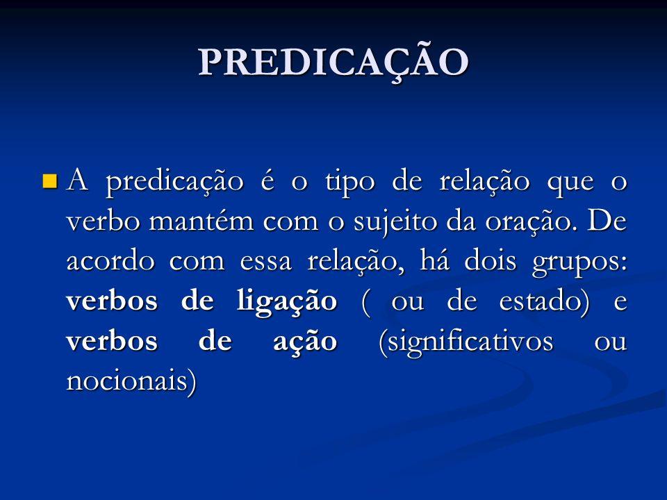 PREDICAÇÃO