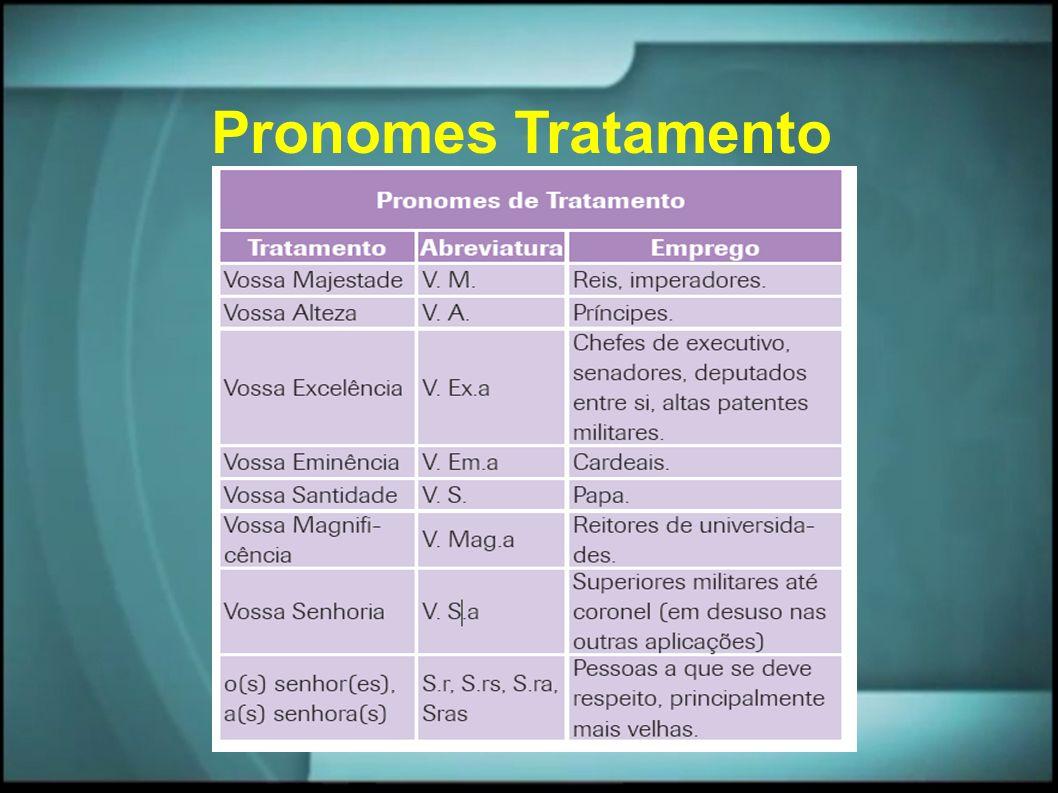 Pronomes Tratamento