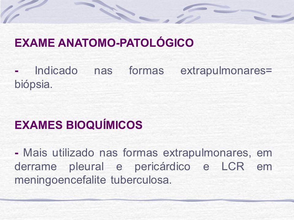 EXAME ANATOMO-PATOLÓGICO