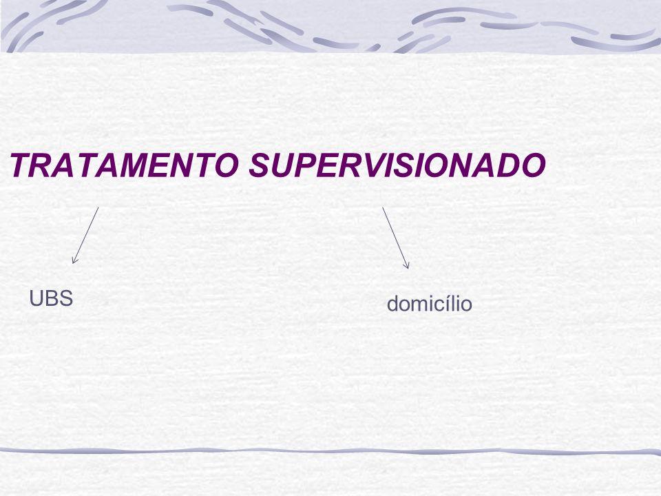 TRATAMENTO SUPERVISIONADO