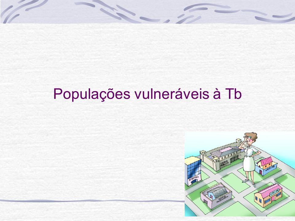 Populações vulneráveis à Tb