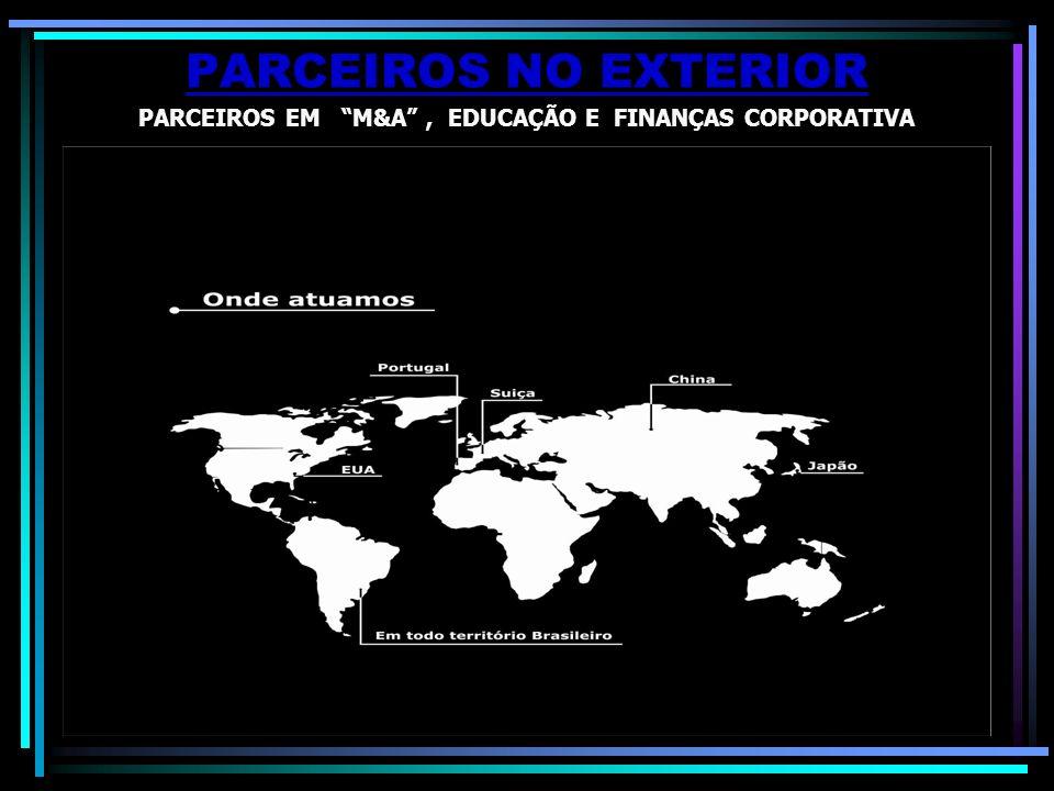 PARCEIROS EM M&A , EDUCAÇÃO E FINANÇAS CORPORATIVA