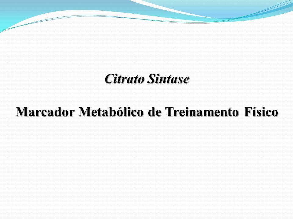 Marcador Metabólico de Treinamento Físico
