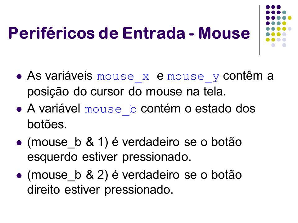 Periféricos de Entrada - Mouse