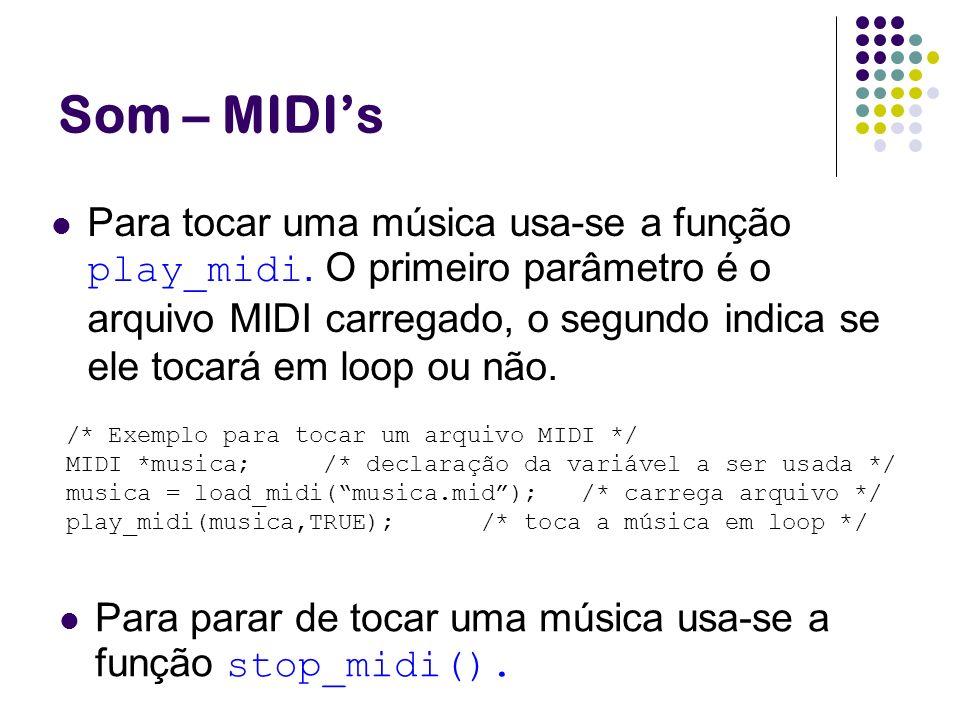 Som – MIDI's