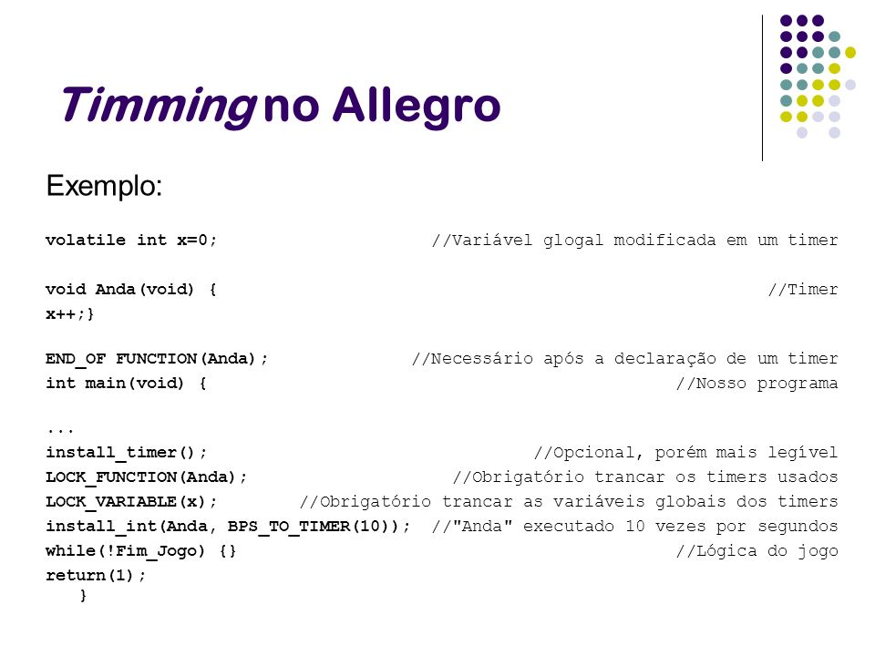 Timming no Allegro Exemplo: