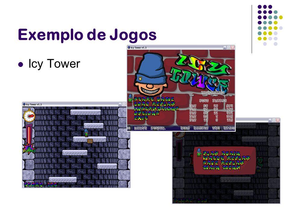 Exemplo de Jogos Icy Tower