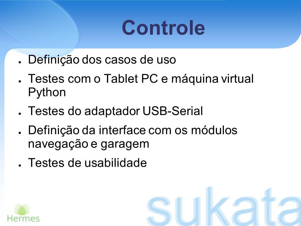 Controle Definição dos casos de uso
