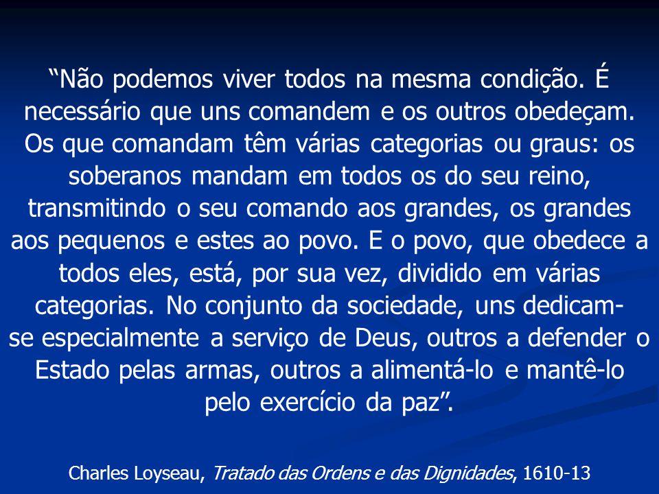 Charles Loyseau, Tratado das Ordens e das Dignidades, 1610-13