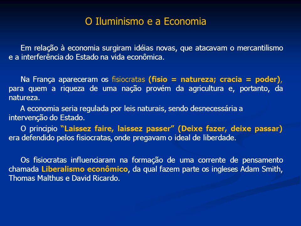 O Iluminismo e a Economia