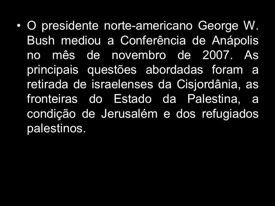 O presidente norte-americano George W