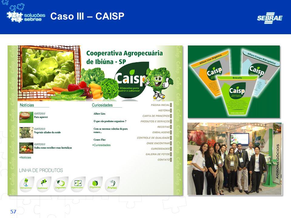 Caso III – CAISP