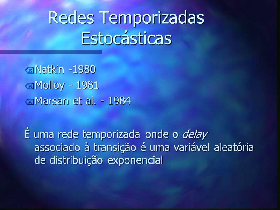 Redes Temporizadas Estocásticas