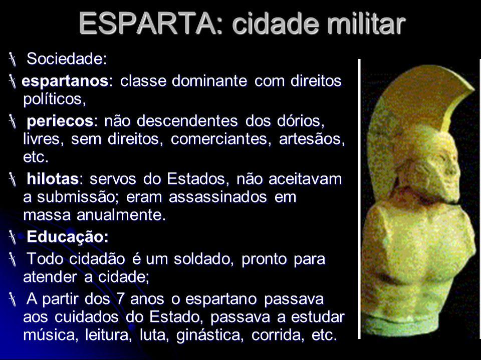 ESPARTA: cidade militar