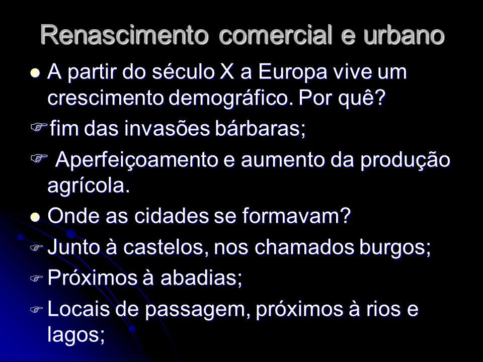 Renascimento comercial e urbano