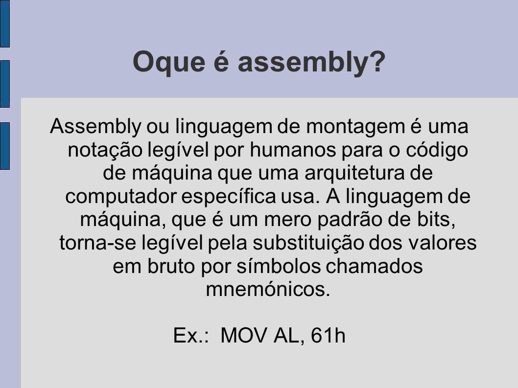 Oque é assembly