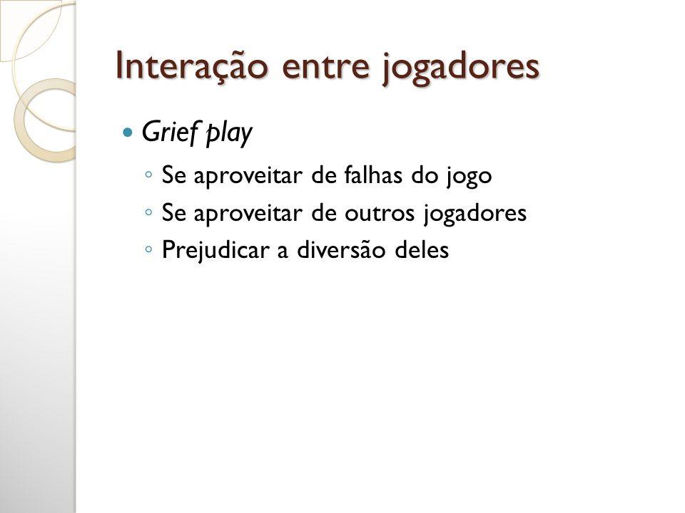 Interação entre jogadores
