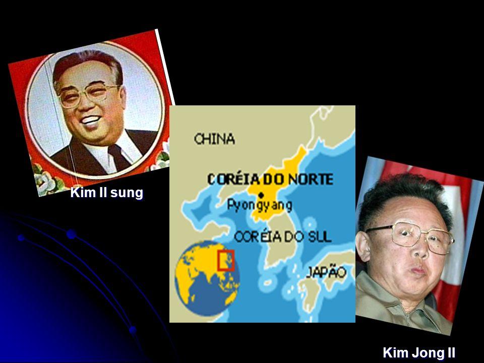 Kim Il sung Kim Jong II