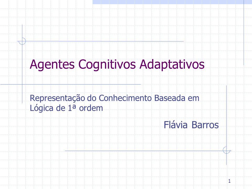 Agentes Cognitivos Adaptativos