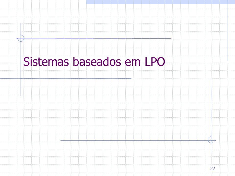 Sistemas baseados em LPO