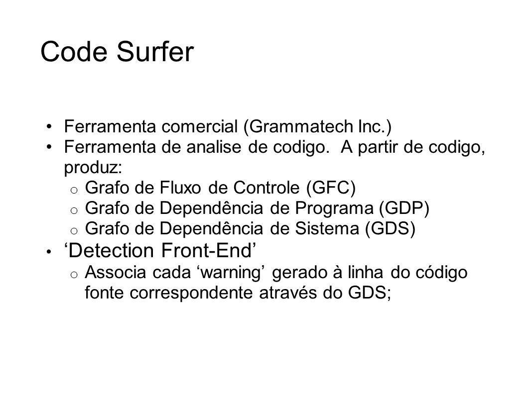Code Surfer 'Detection Front-End'