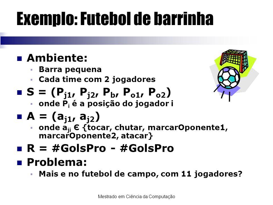 Exemplo: Futebol de barrinha