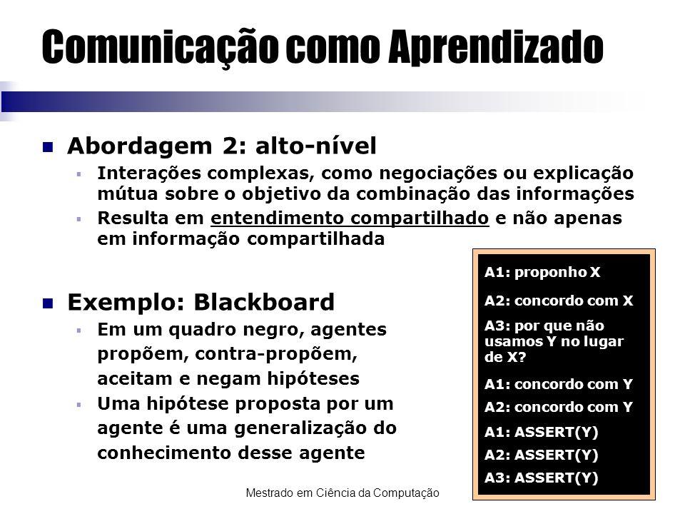 Comunicação como Aprendizado