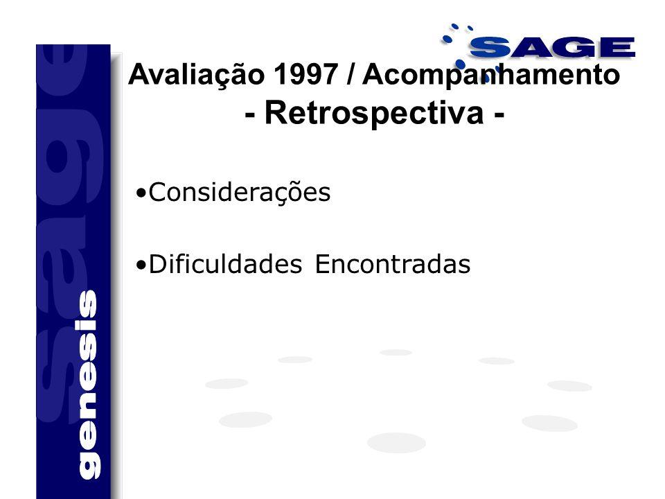 Avaliação 1997 / Acompanhamento - Retrospectiva -