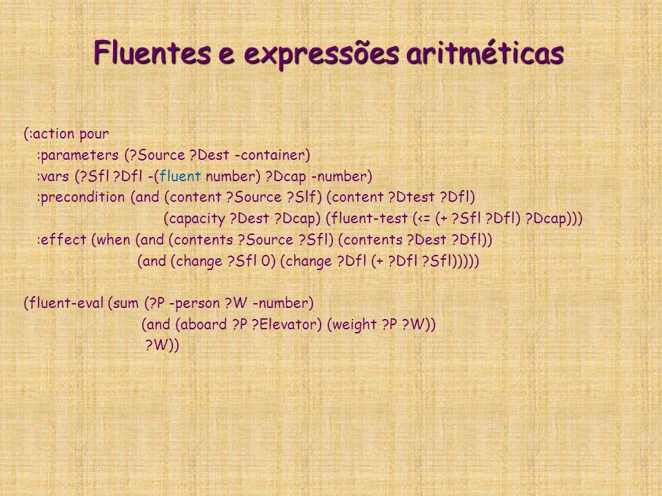 Fluentes e expressões aritméticas