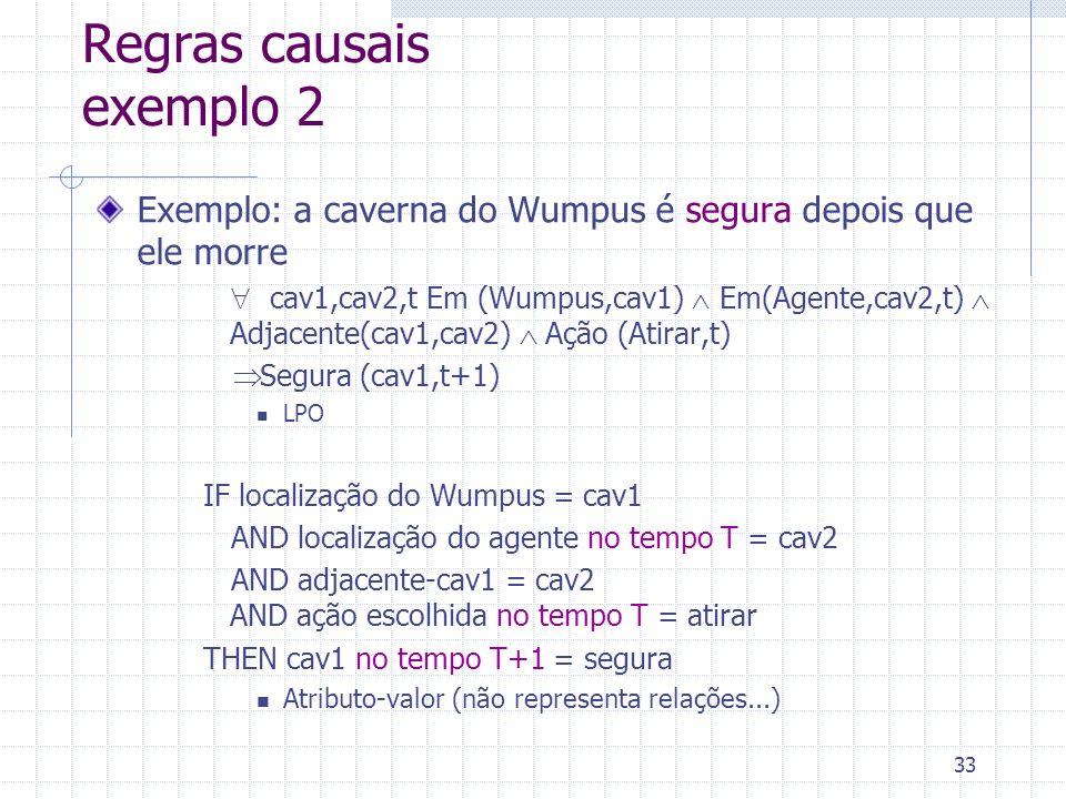 Regras causais exemplo 2