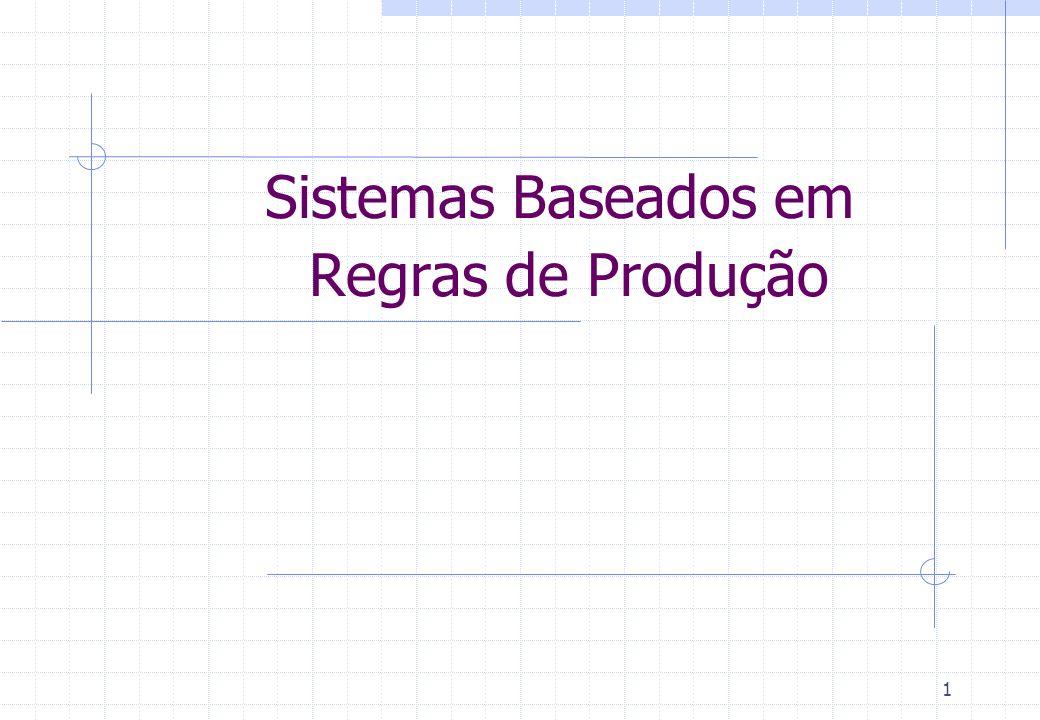 Sistemas Baseados em Regras de Produção