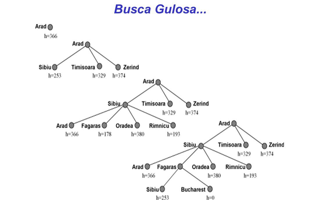 Busca Gulosa...