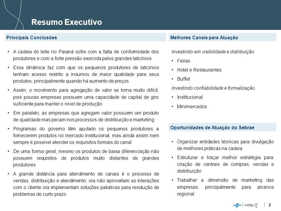 Resumo Executivo Principais Conclusões Melhores Canais para Atuação