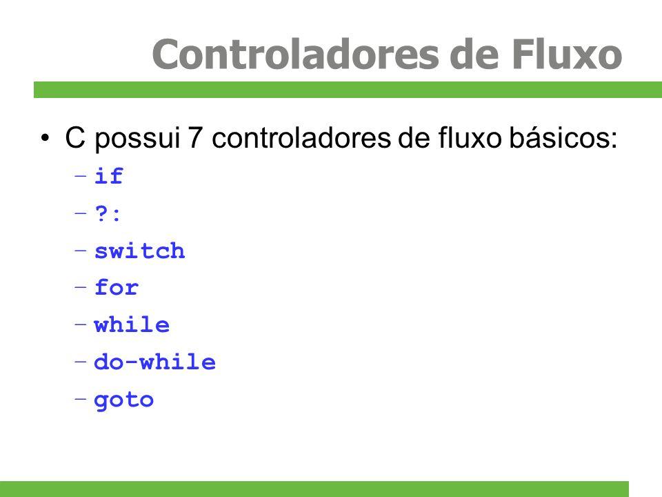 Controladores de Fluxo