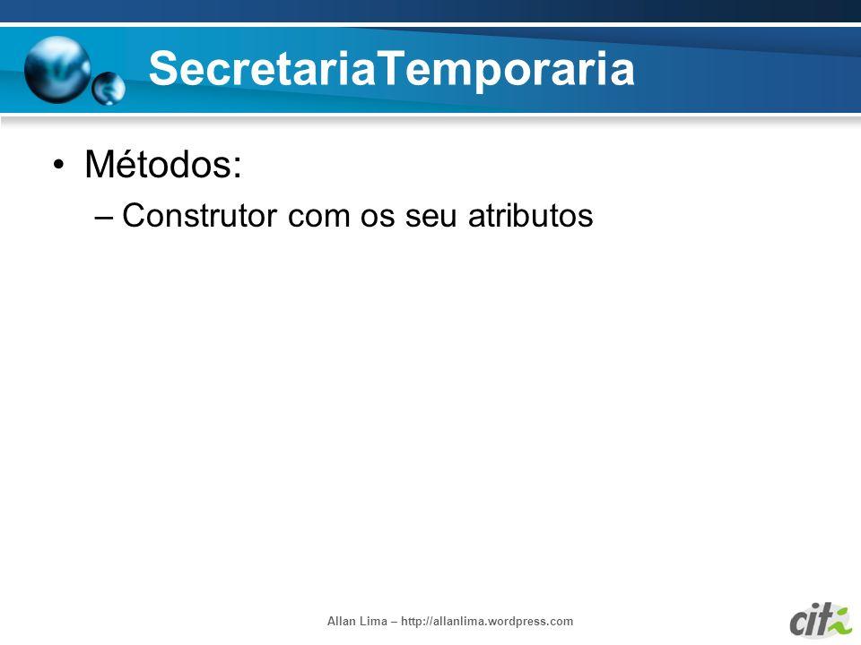 SecretariaTemporaria