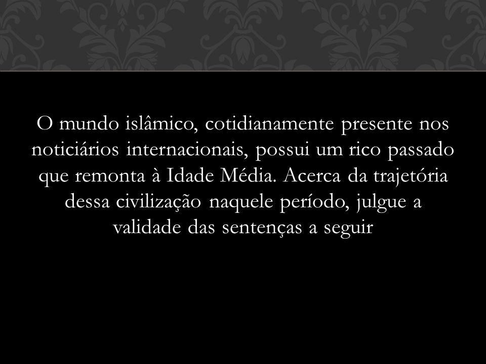 O mundo islâmico, cotidianamente presente nos noticiários internacionais, possui um rico passado que remonta à Idade Média.