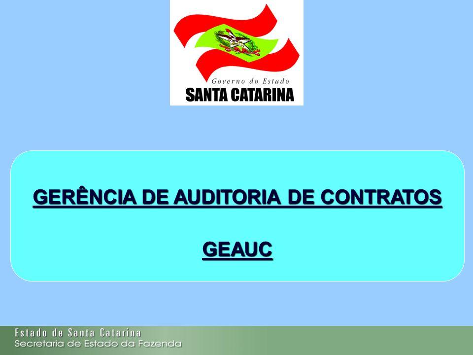 GERÊNCIA DE AUDITORIA DE CONTRATOS