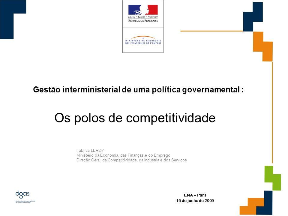 Os polos de competitividade