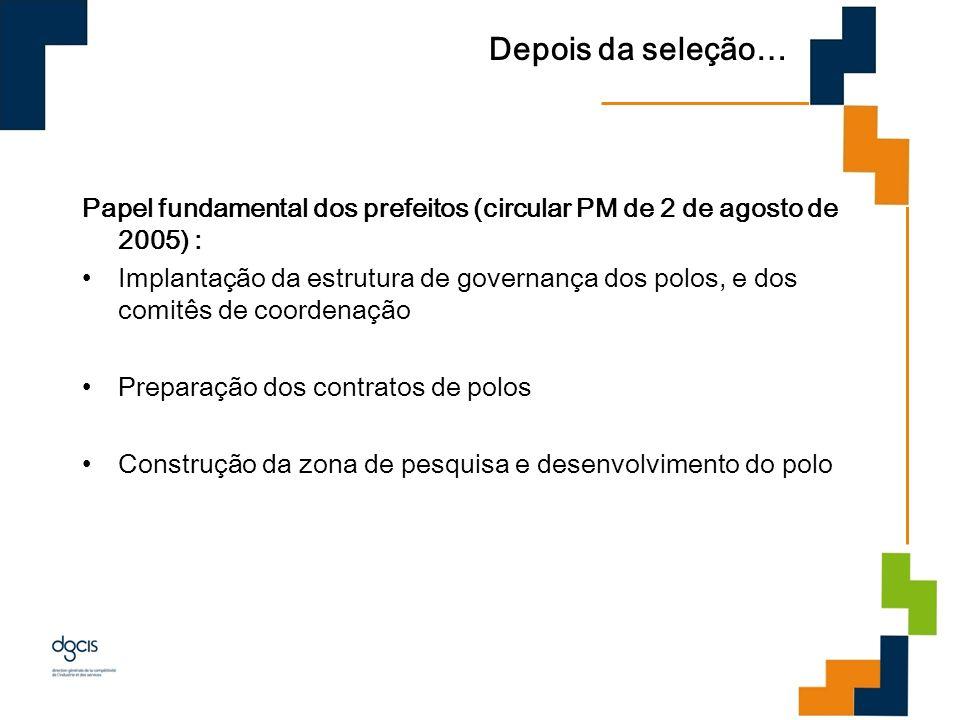 Depois da seleção… Papel fundamental dos prefeitos (circular PM de 2 de agosto de 2005) :