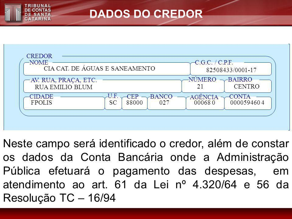 CIA CAT. DE ÁGUAS E SANEAMENTO