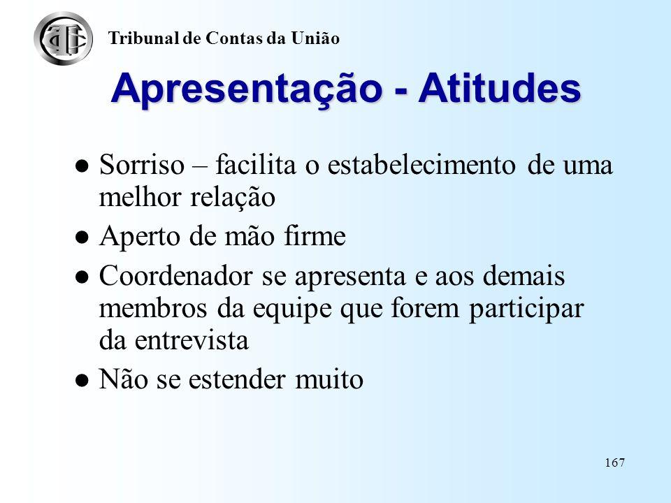 Apresentação - Atitudes