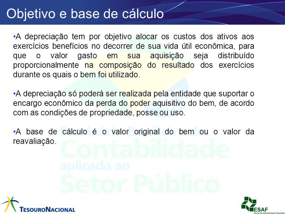 Objetivo e base de cálculo