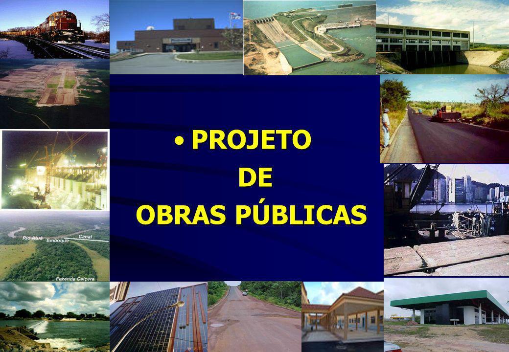PROJETO DE OBRAS PÚBLICAS
