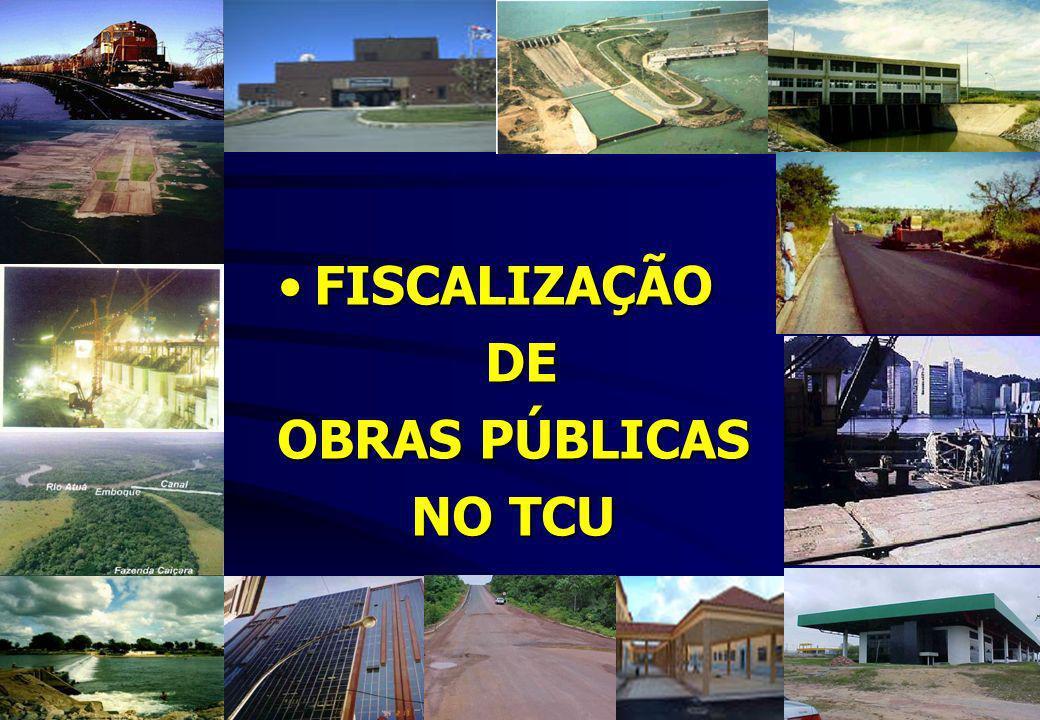 FISCALIZAÇÃO DE OBRAS PÚBLICAS NO TCU