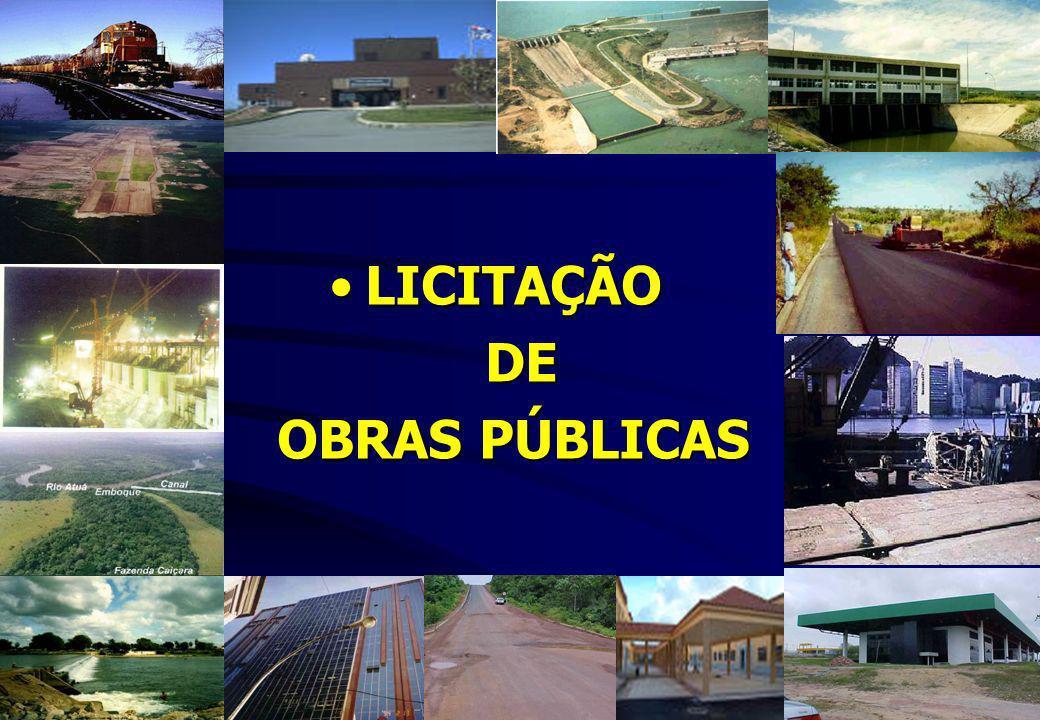 LICITAÇÃO DE OBRAS PÚBLICAS