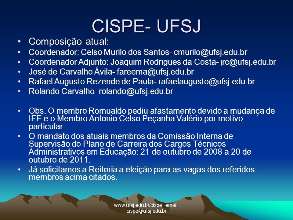 CISPE- UFSJ Composição atual: