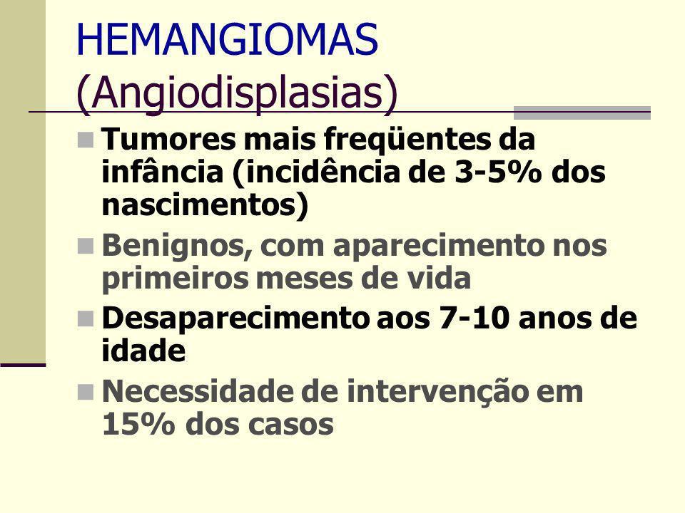 HEMANGIOMAS (Angiodisplasias)