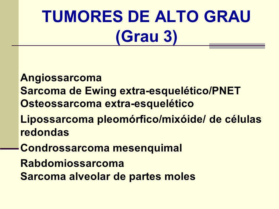 TUMORES DE ALTO GRAU (Grau 3)