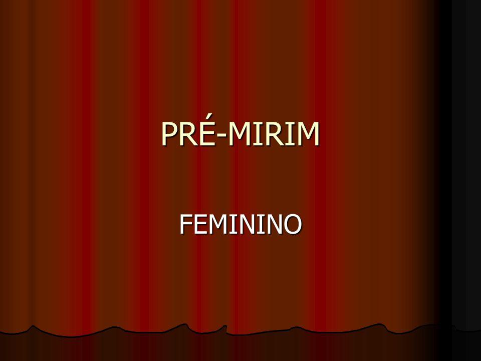 PRÉ-MIRIM FEMININO